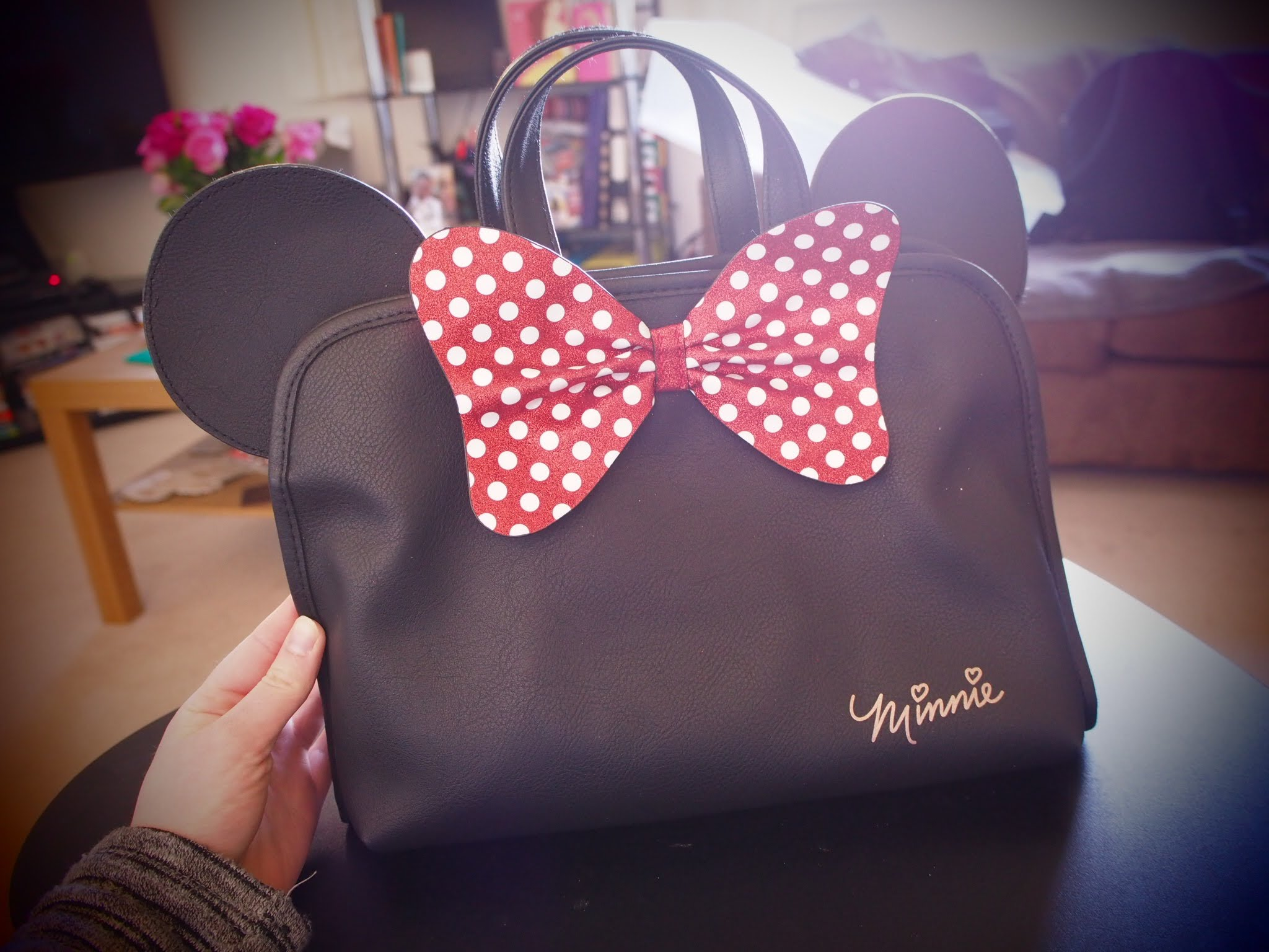 Minnie Mouse Toiletries Bag