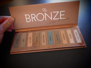 PS Bronze Shadow & Shade Palette
