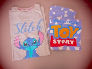 stitch nightshirt toy story pj's