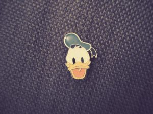 donald duck pin