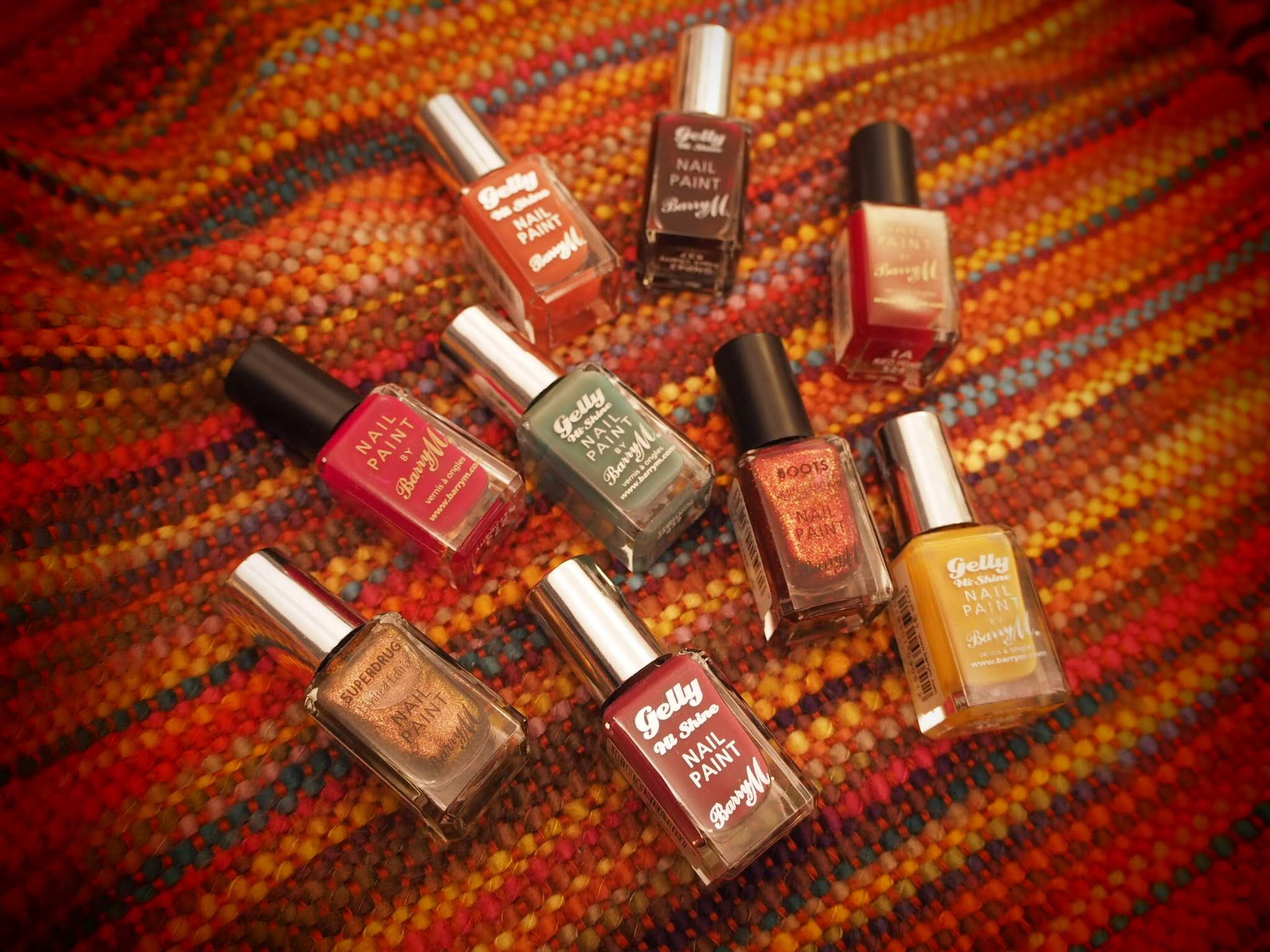 autumn nail polish colours