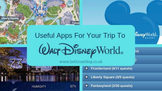 useful apps wdw