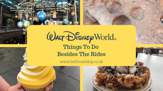 What to do besides the rides